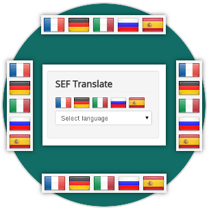 Layouts of SEF Translate